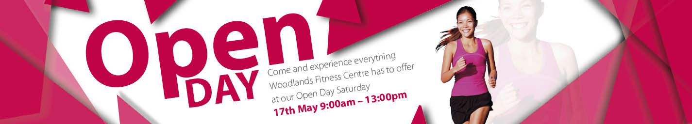 Woodlands Fitness Centre Open Day
